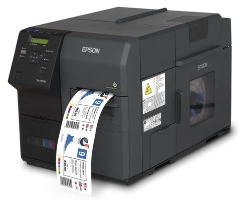 Epson C7500 Color Label Printer On Demand Label Printing