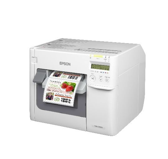 Epson C3500 Color Label Printer On Demand Label Printing