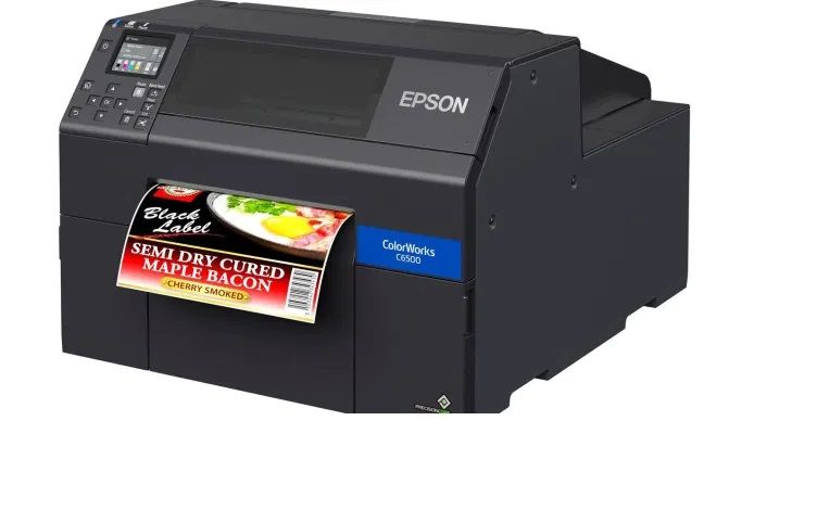 Epson C6500 Color Label Printer On Demand Label Printing