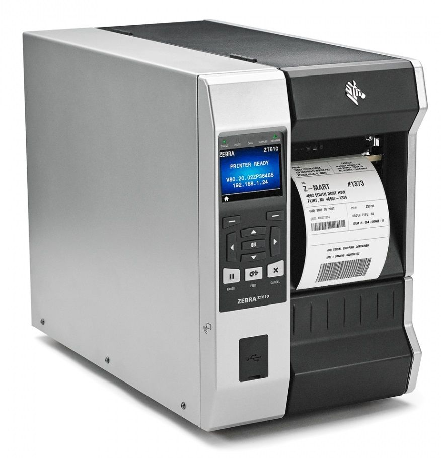 Zebra ZT 610 Color Label Printer